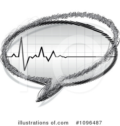 Heartbeat Clipart #1096487 by Andrei Marincas