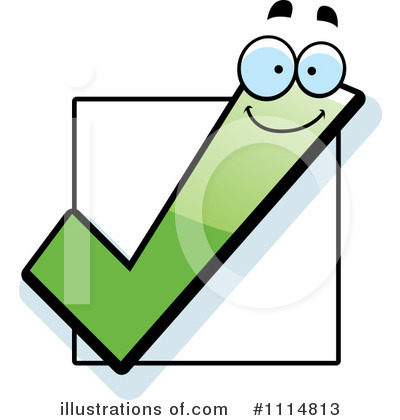 Check Mark Clipart #1114813 by Cory Thoman