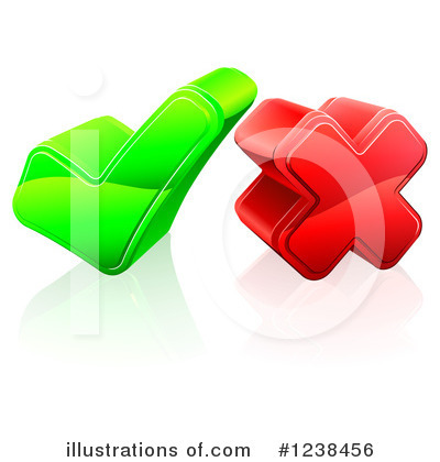 Check Mark Clipart #1238456 by AtStockIllustration