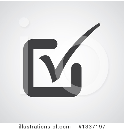 Royalty-Free (RF) Check Mark Clipart Illustration by ColorMagic - Stock Sample #1337197