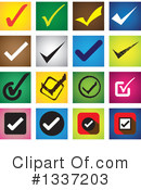Check Mark Clipart #1337203 by ColorMagic