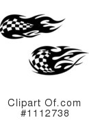 Checkered Flags Clipart #1112738 by Vector Tradition SM