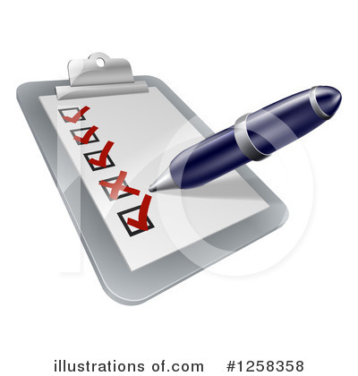Writing Clipart #1258358 by AtStockIllustration
