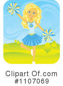 Cheerleader Clipart #1107069