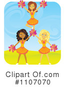 Cheerleader Clipart #1107070