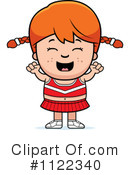 Royalty-Free (RF) Cheerleader Clipart Illustration #1122340