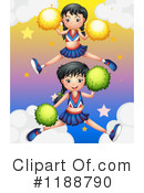 Cheerleader Clipart #1188790 by Graphics RF