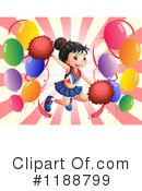 Cheerleader Clipart #1188799 by Graphics RF