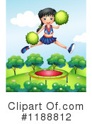 Cheerleader Clipart #1188812 by Graphics RF