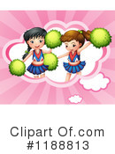 Cheerleader Clipart #1188813 by Graphics RF