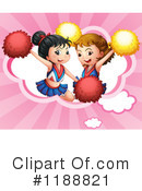 Cheerleader Clipart #1188821 by Graphics RF