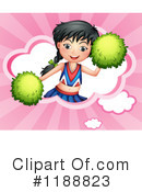 Cheerleader Clipart #1188823 by Graphics RF