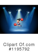 Cheerleader Clipart #1195792 by Graphics RF