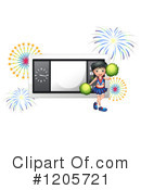 Cheerleader Clipart #1205721