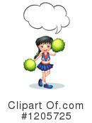 Cheerleader Clipart #1205725