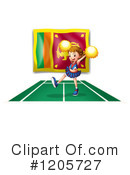 Cheerleader Clipart #1205727