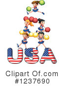 Cheerleader Clipart #1237690