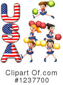 Cheerleader Clipart #1237700