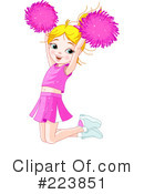 Cheerleader Clipart #223851