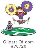 Cheerleader Clipart #70720