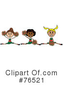 Cheerleader Clipart #76521 by Pams Clipart