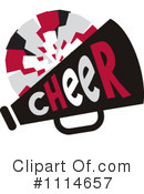 Cheerleading Clipart #1114657 by Johnny Sajem