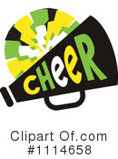 Cheerleading Clipart #1114658 by Johnny Sajem