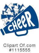 Cheerleading Clipart #1115555 by Johnny Sajem