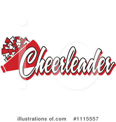 Cheerleading Clipart #1115557 by Johnny Sajem