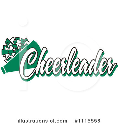 Cheerleading Clipart #1115558 by Johnny Sajem