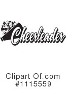 Cheerleading Clipart #1115559 by Johnny Sajem