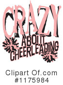 Royalty-Free (RF) Cheerleading Clipart Illustration #1175984