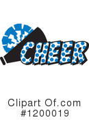 Cheerleading Clipart #1200019 by Johnny Sajem