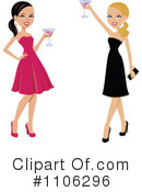 Royalty-Free (RF) cheers Clipart Illustration #1106296