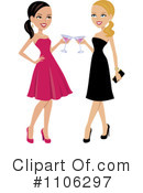 Royalty-Free (RF) Cheers Clipart Illustration #1106297