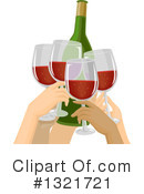 Cheers Clipart #1321721 by BNP Design Studio