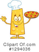 Royalty-Free (RF) Cheese Character Clipart Illustration #1294036