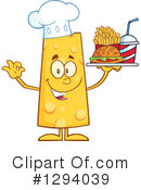 Royalty-Free (RF) Cheese Character Clipart Illustration #1294039