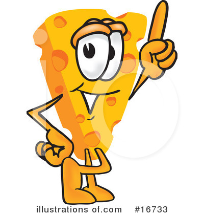 Cheese Character Clipart #16733 by Toons4Biz