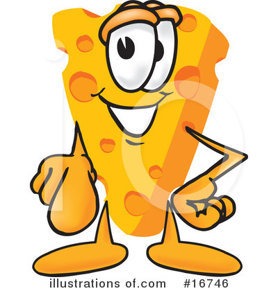 Cheese Character Clipart #16746 by Toons4Biz