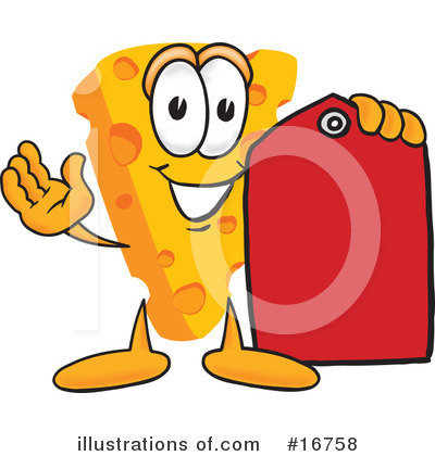 Cheese Character Clipart #16758 by Toons4Biz