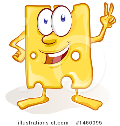 Royalty-Free (RF) Cheese Clipart Illustration by Domenico Condello - Stock Sample #1460095