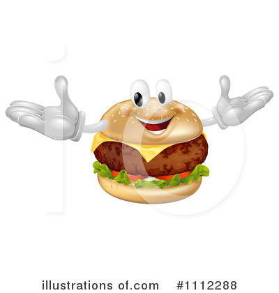 Cheeseburger Clipart #1112288 by AtStockIllustration