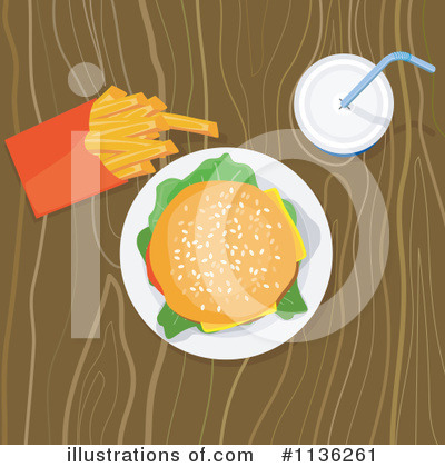 Burger Clipart #1136261 by patrimonio