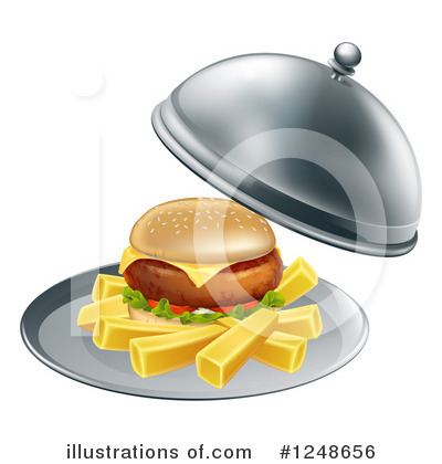 Cheeseburger Clipart #1248656 by AtStockIllustration