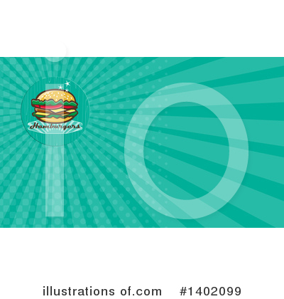Burger Clipart #1402099 by patrimonio