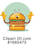 Cheeseburger Clipart #1665473 by Morphart Creations