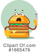 Cheeseburger Clipart #1665476 by Morphart Creations