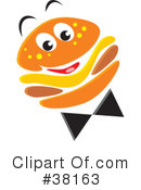 Royalty-Free (RF) Cheeseburger Clipart Illustration #38163