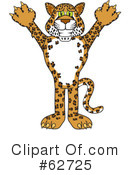 Cheetah Character Clipart #62725 by Toons4Biz